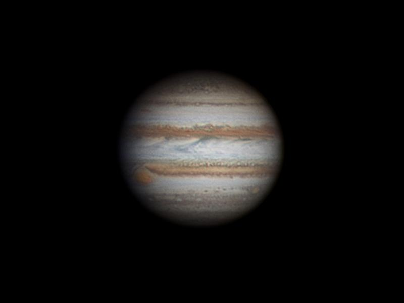 Stunning image of #jupiter uploaded by our very own John Napper today. Taken April 5th. https://t.co/mRjUJ2p17Y http://t.co/M5ZLttqJZT