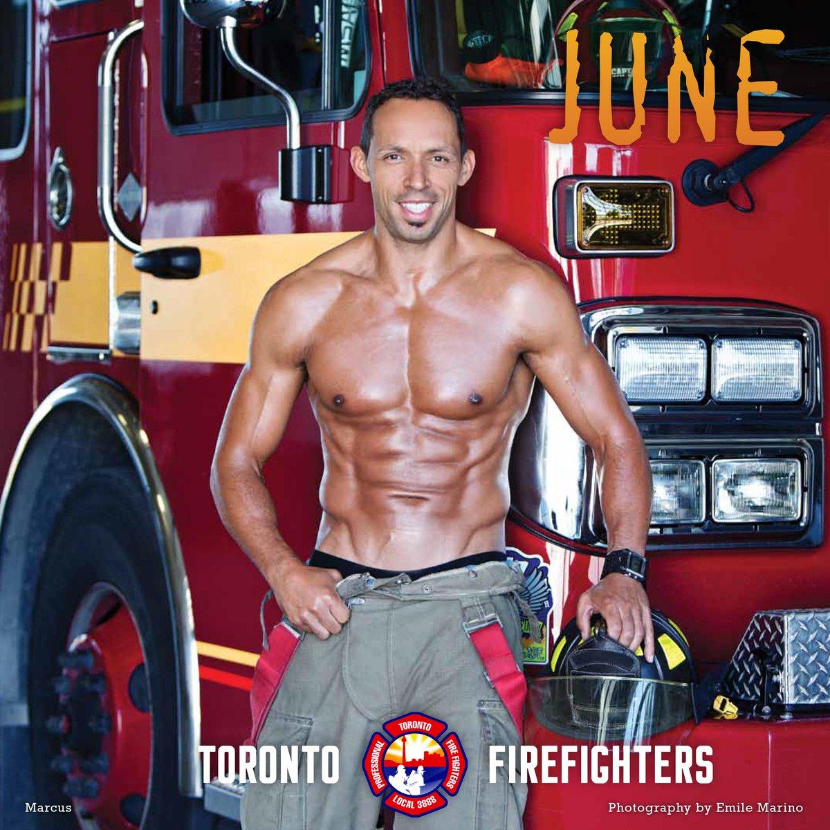 Fireman Calendar May : Firefighter calendar torontoffc twitter