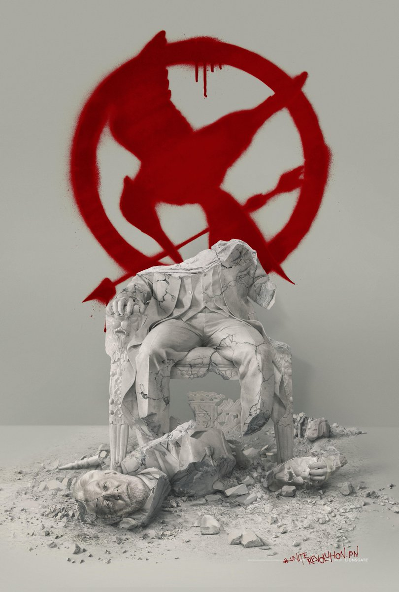 mockingjay part 2 poster