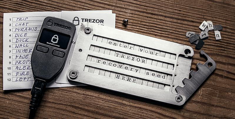 Trezor wallet image