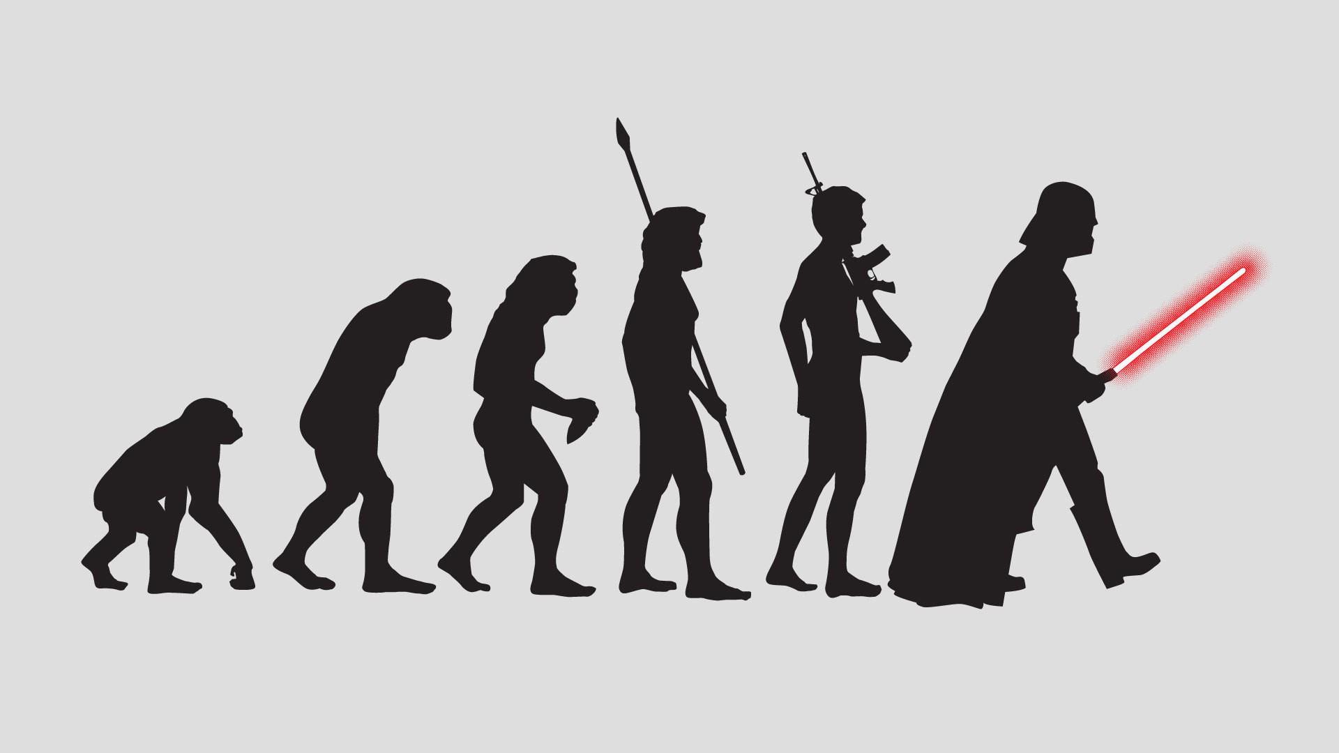 Анимация, эволюция прикольные картинки