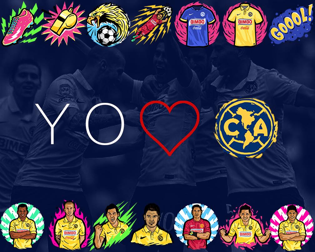 Club América On Twitter Qué Les Parecen Los Emojis De Nuestras