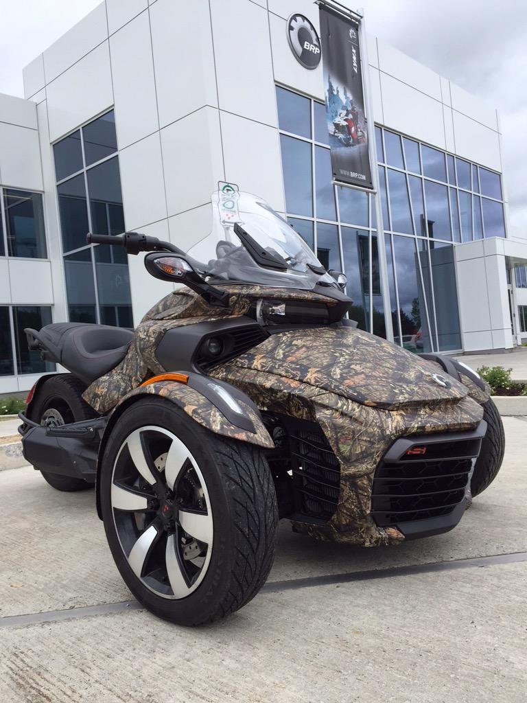 Mossy Oak On Twitter Custom Can Am Spyder F3 Wrapped In The New