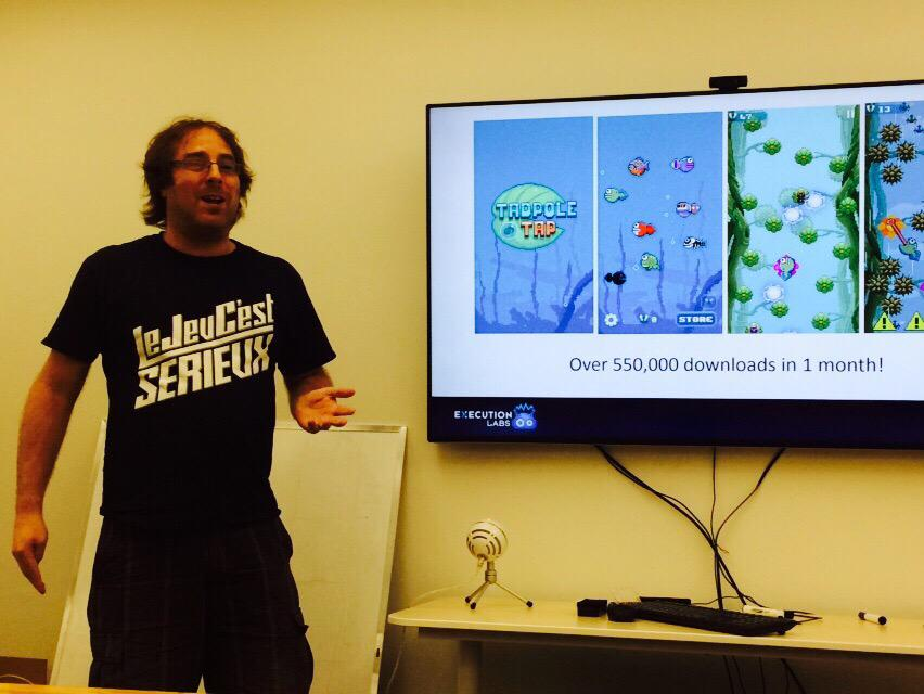#50PMtlNYC - meet w/ @outerminds - 550k downloads on 1st game. New game coming this summer with @PewDiePieBestOf http://t.co/oTCSRhBEoW