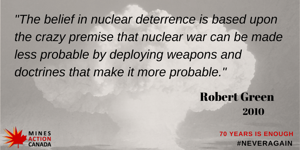 52 days until 70th anniversary of Hiroshima & Nagasaki. It is time to stop the madness and start banning nukes. http://t.co/EIYpzLeJj4
