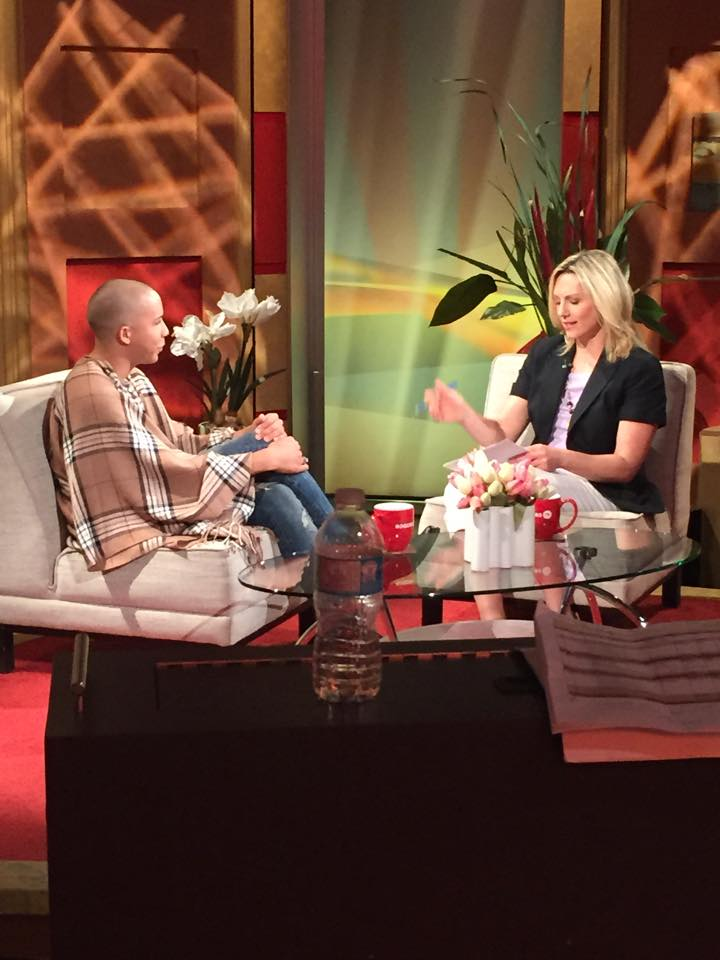 Vonny The Ken Doll Interview @ #DAYTIMETORONTO @RogersTVToronto  Adore Val Cole! Always a great time. http://t.co/5UaqKvZD1K