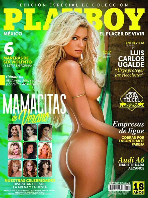 """Check out the @PlayboyMX limited edition """"Mamacitas de Verano"""" this month with yours truly in it! http://t"""