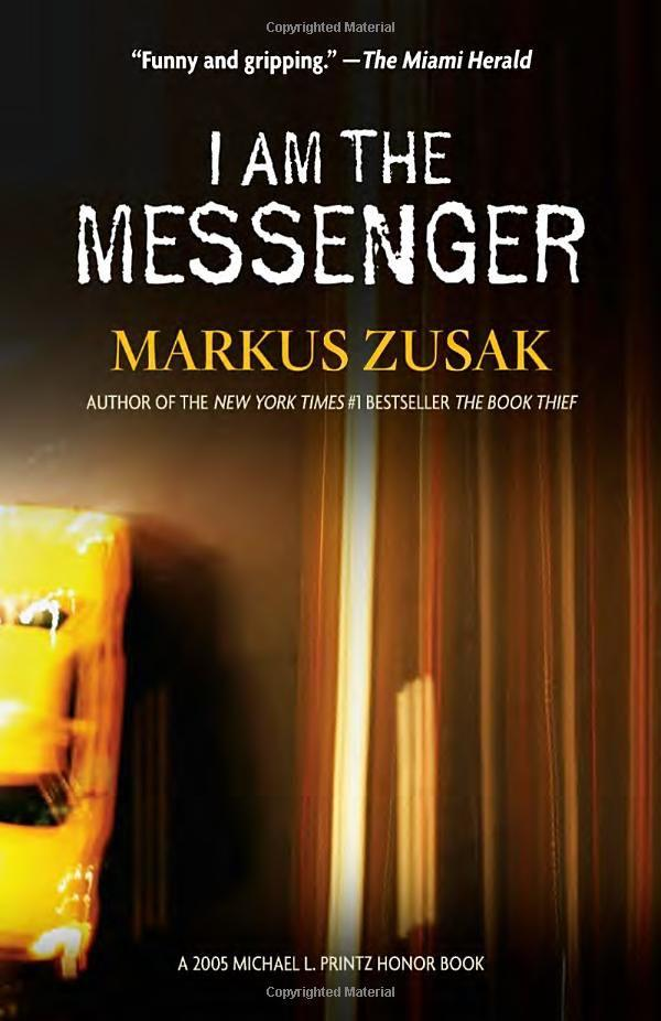 Afbeeldingsresultaat voor am the messenger markus zusak