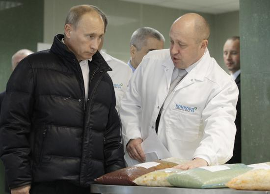 Image result for Images of Yevgeny Prigozhin and Putin