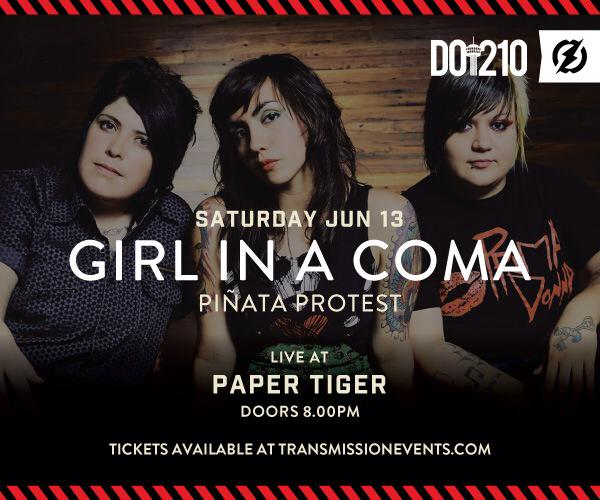 We have a #SanAntonio show on June 13 with @pinataprotest at @papertigersa! Get your tix NOW: http://t.co/eMFPNxBXDV http://t.co/Ux1DckfIos