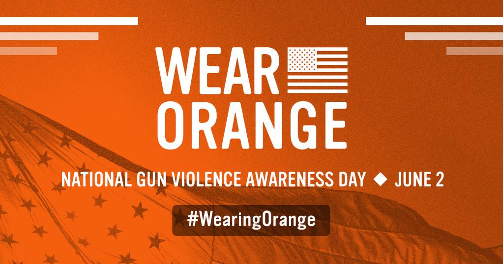 Don't be the odd one out. Tomorrow, make sure you're #WearingOrange. http://t.co/XOYliqBcnA