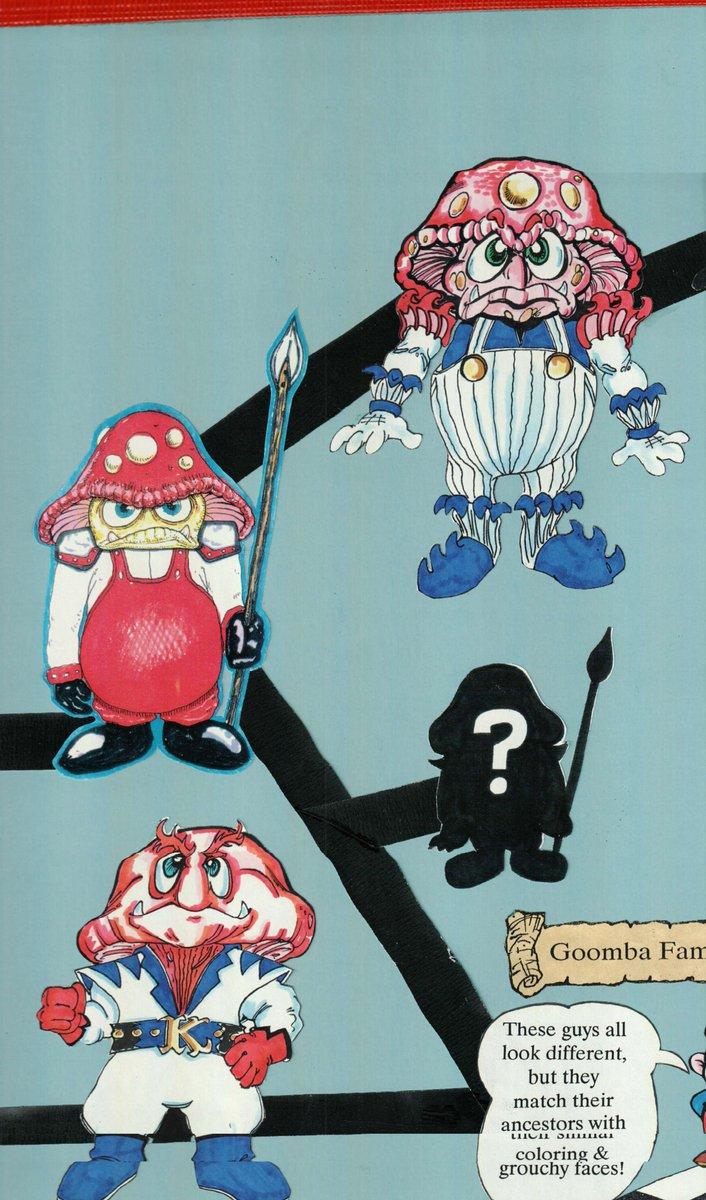 super mario bros movie goomba concept art
