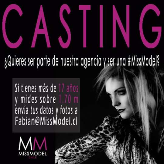 """MM Agency On Twitter: """"#CASTING ¿Quieres Ser Parte Del"""