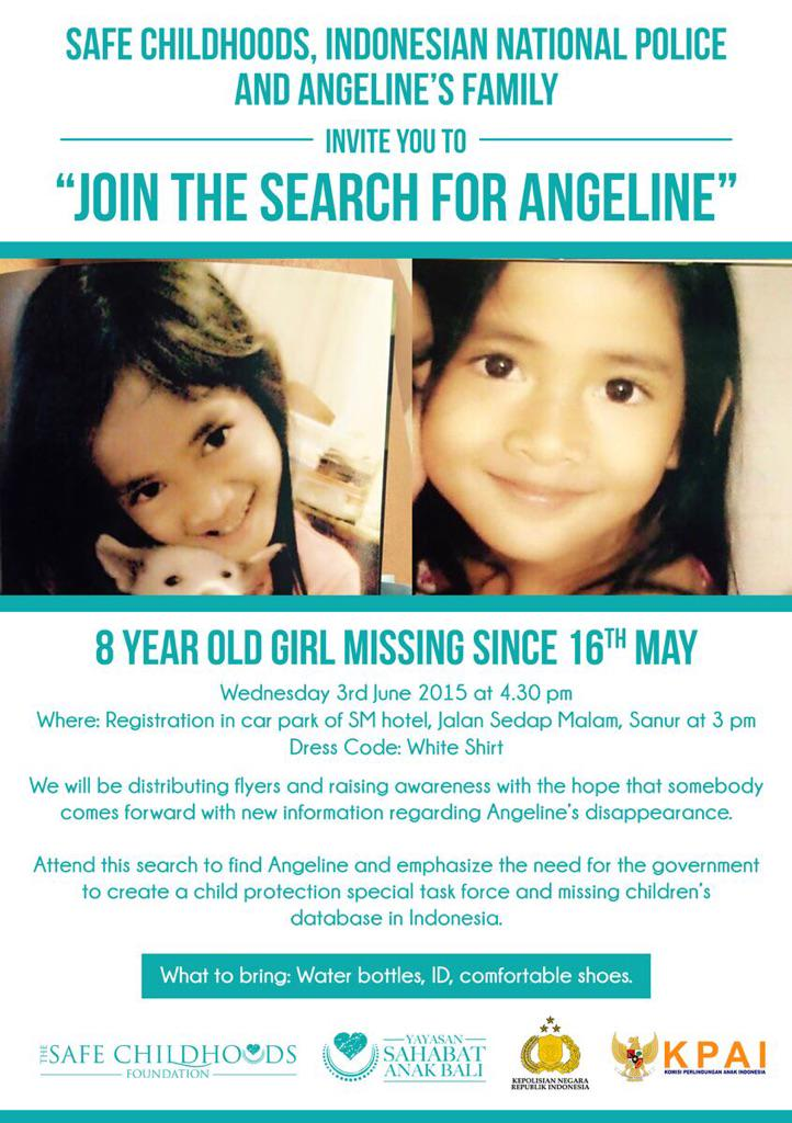 Where's Angeline? http://t.co/t1q4p5nxHA