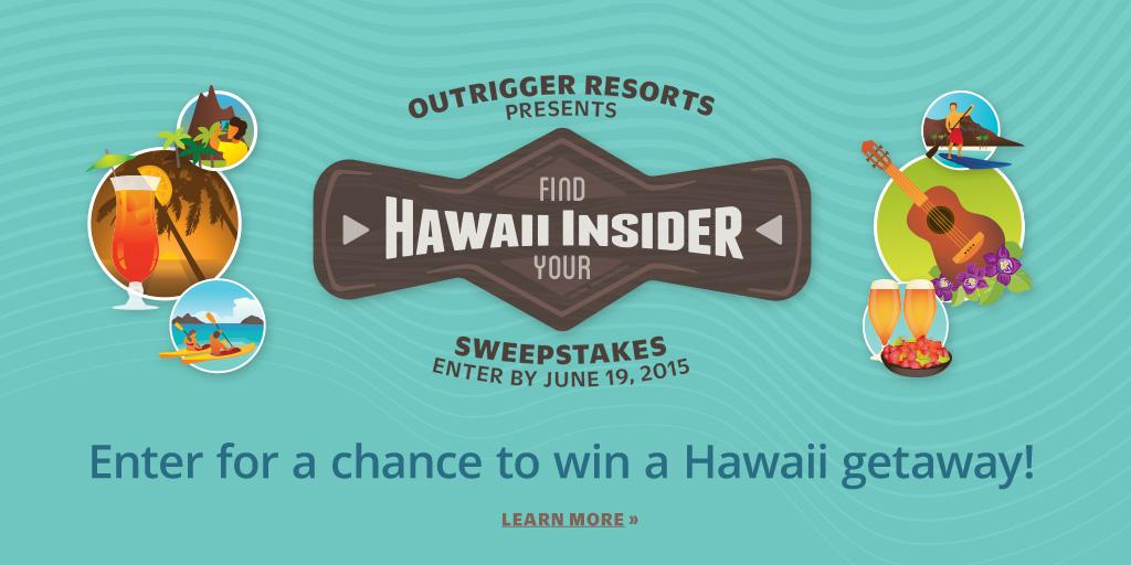 Enter to win a $15,000 Hawaii getaway! The @OutriggerResort Hawaii Insider Sweepstakes is on! http://t.co/iWqHsUNOPo http://t.co/LzFq08P2pe