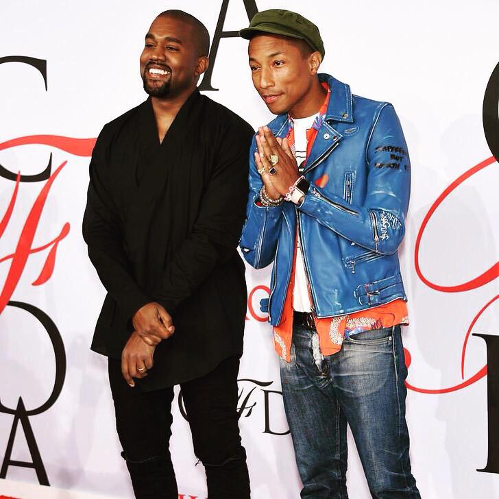 Thank you @CFDA for the award and my brother @KanyeWest for the inspiring introduction. I'm truly honored #CFDAAwards