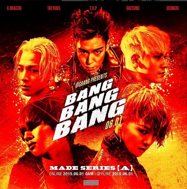 ポスターがもはや映画。 内容気になりすぎる。 けどなにより気になるのはTOPさんの髪型。 #bigbang #bangbangbang...
