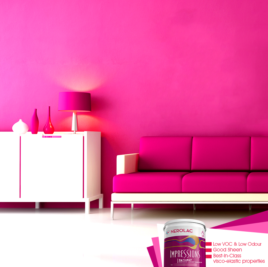 Nerolac Paints India on Twitter For walls that shine like none other Nerolac  Impressions 24Carat gives. Nerolac Paints Interior