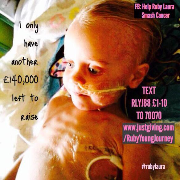 RT @MichelleHadris: @Fearnecotton please help us and RT for Rubylaura as she is having 20hour surgery today to save her life #rubylaura x h…