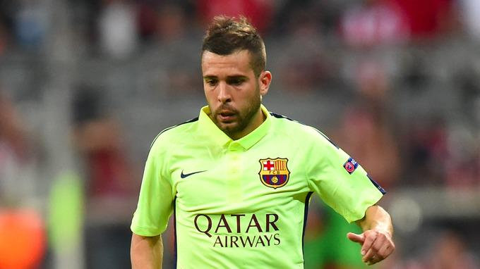 Jordi Alba Signs New Deal With Barca
