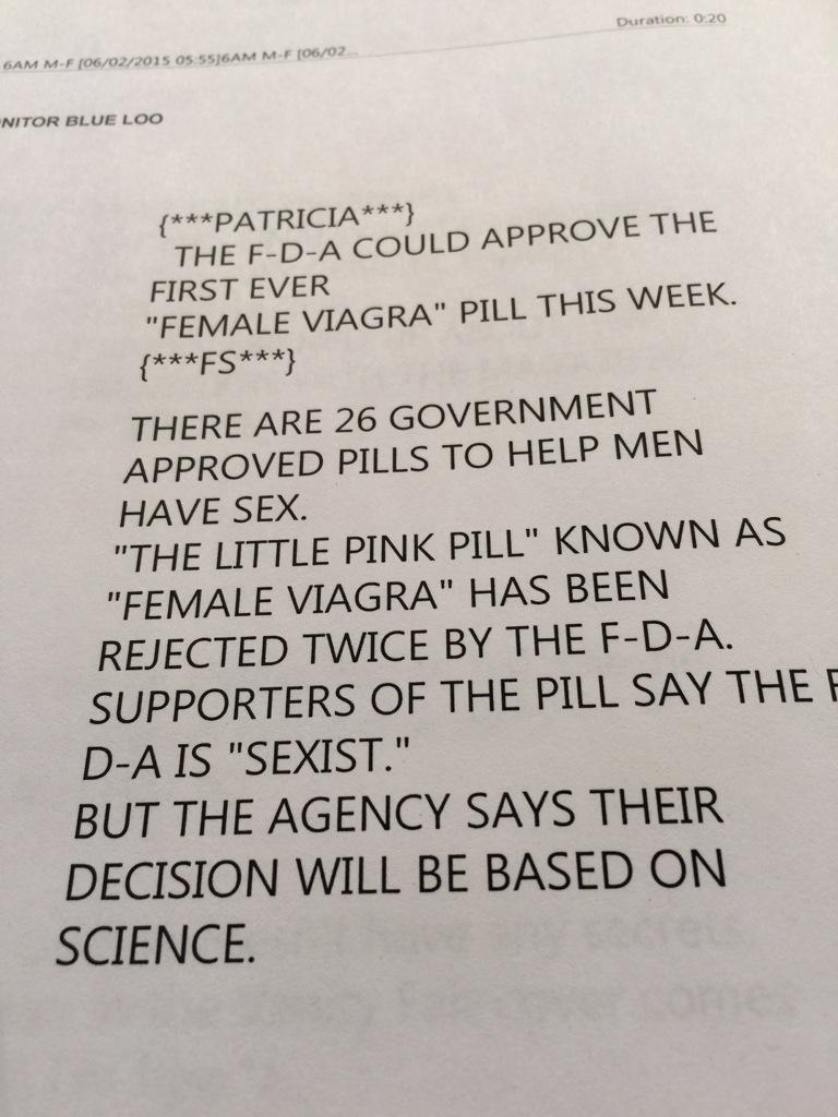 taking viagra pill