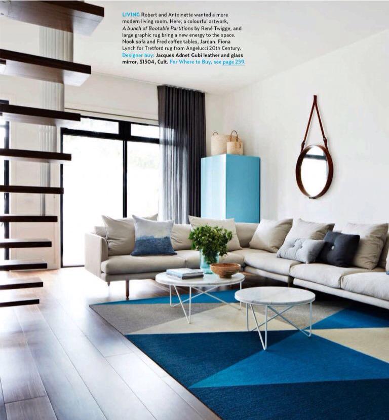 tretford uae on twitter bespoke rug interiors design residential carpet irish flooring blue apartment d3district dubai australia