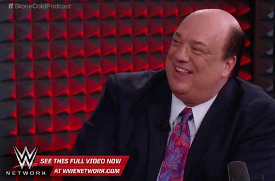 Does @HeymanHustle hold key to making @BrockLesnar vs @steveaustinBSR happen? http://t.co/3nivexfUC8 #WWE