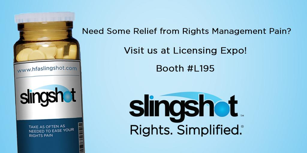 Less than 1 week until @licensingexpo! Learn about our #Slingshot solutions at #Licensing15 - http://t.co/XN1Ka0HBpu http://t.co/1FoBXNNa83