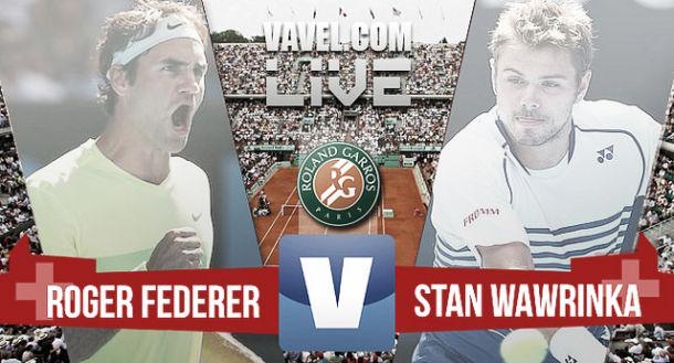 DIRETTA TENNIS Rojadirecta: Roger Federer vs Stanislas Wawrinka in Streaming Gratis con Eurosport Live TV (Semifinale Us Open 2015).