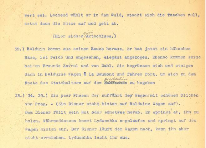 Auszug aus dem Original-Exposé DER STUDENT VON PRAG von Hanns Heinz Ewers! #Buch #Film #Stummfilm http://t.co/unYbRxo5Y6