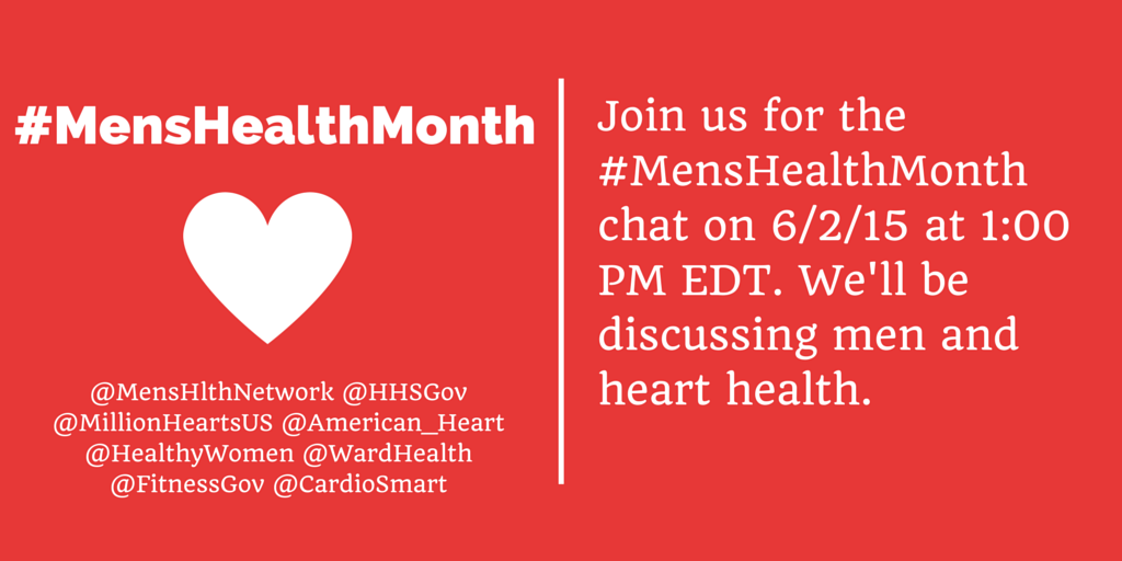 Thumbnail for Men's Health Month Twitter Chat