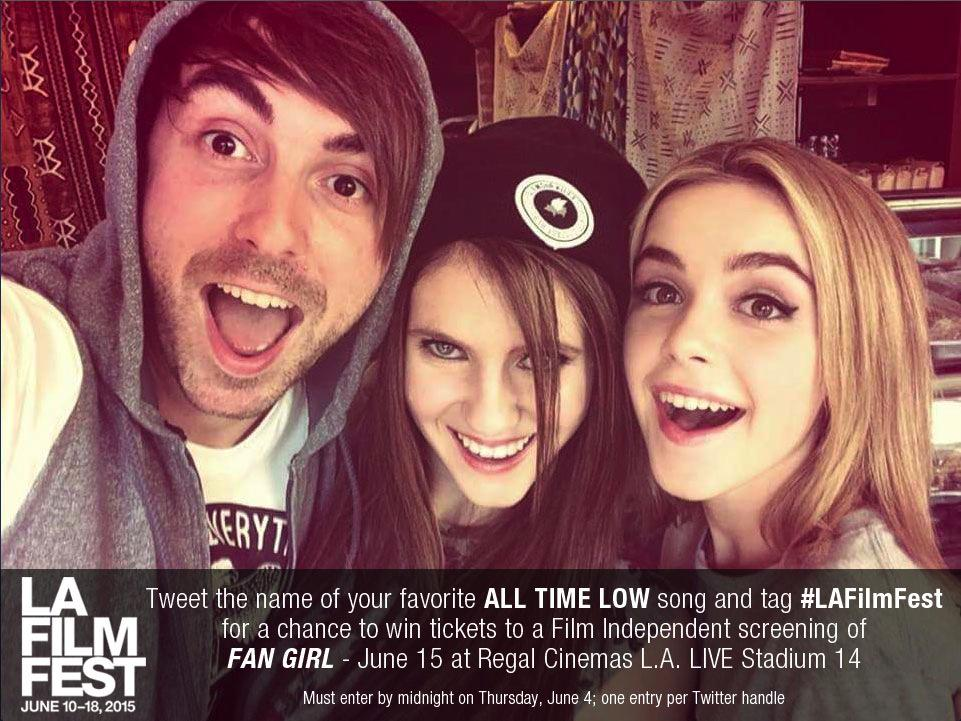 We're hosting a @filmindependent Members-Only screening of #FanGirlMovie and @AllTimeLow fans can enter to win tix! http://t.co/C6cKQCjua0