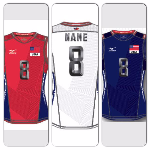 mizuno usa volleyball jersey originales