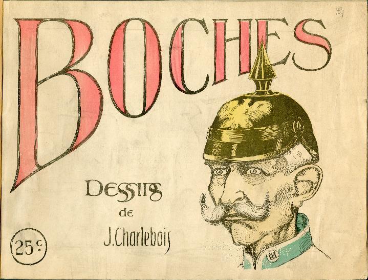 #1GM #ChallengeAZ1418 B comme Boche (alboche = une tête de bois) https://t.co/YnGE95tmf8   http://t.co/YKQ0z5mzUA