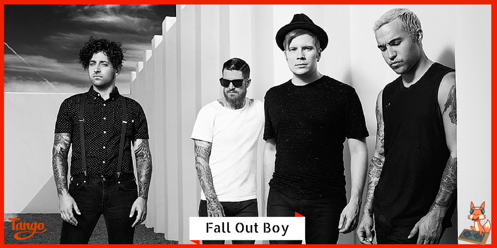 Fall Out Boy is dancing like Uma Thurman on Tango! Check out their channel: http://t.co/z1MiKStfrJ #FallOutBoy http://t.co/vdShAxmlAU