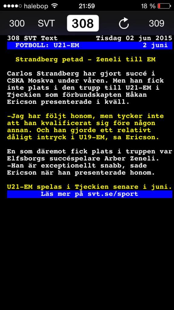 Svenska rubrikspelare kommer att petas i u21 em