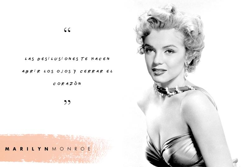 Marilyn Monroe Hollywood Recordamos Mejores Frases Marilyn
