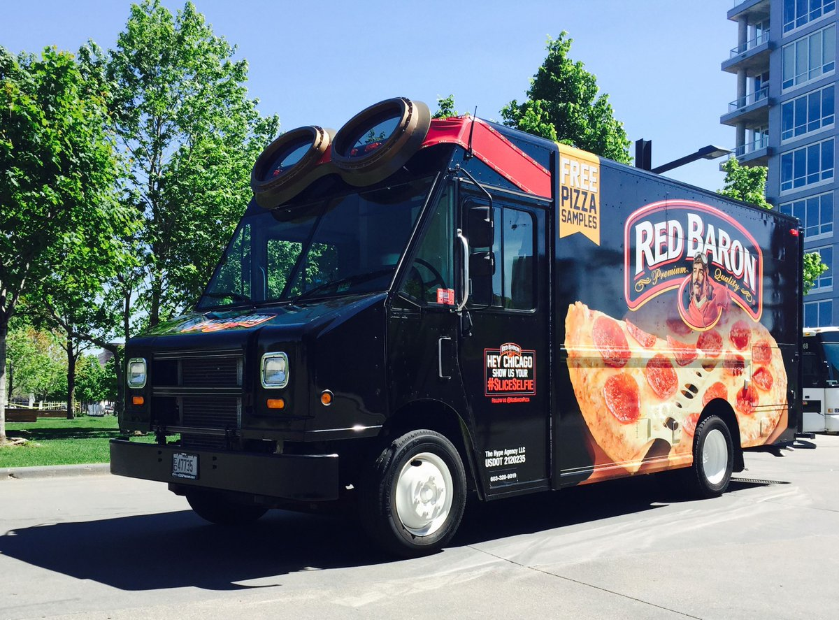 Red Baron Pizza On Twitter Have You Seen Our Red Baron Truck In