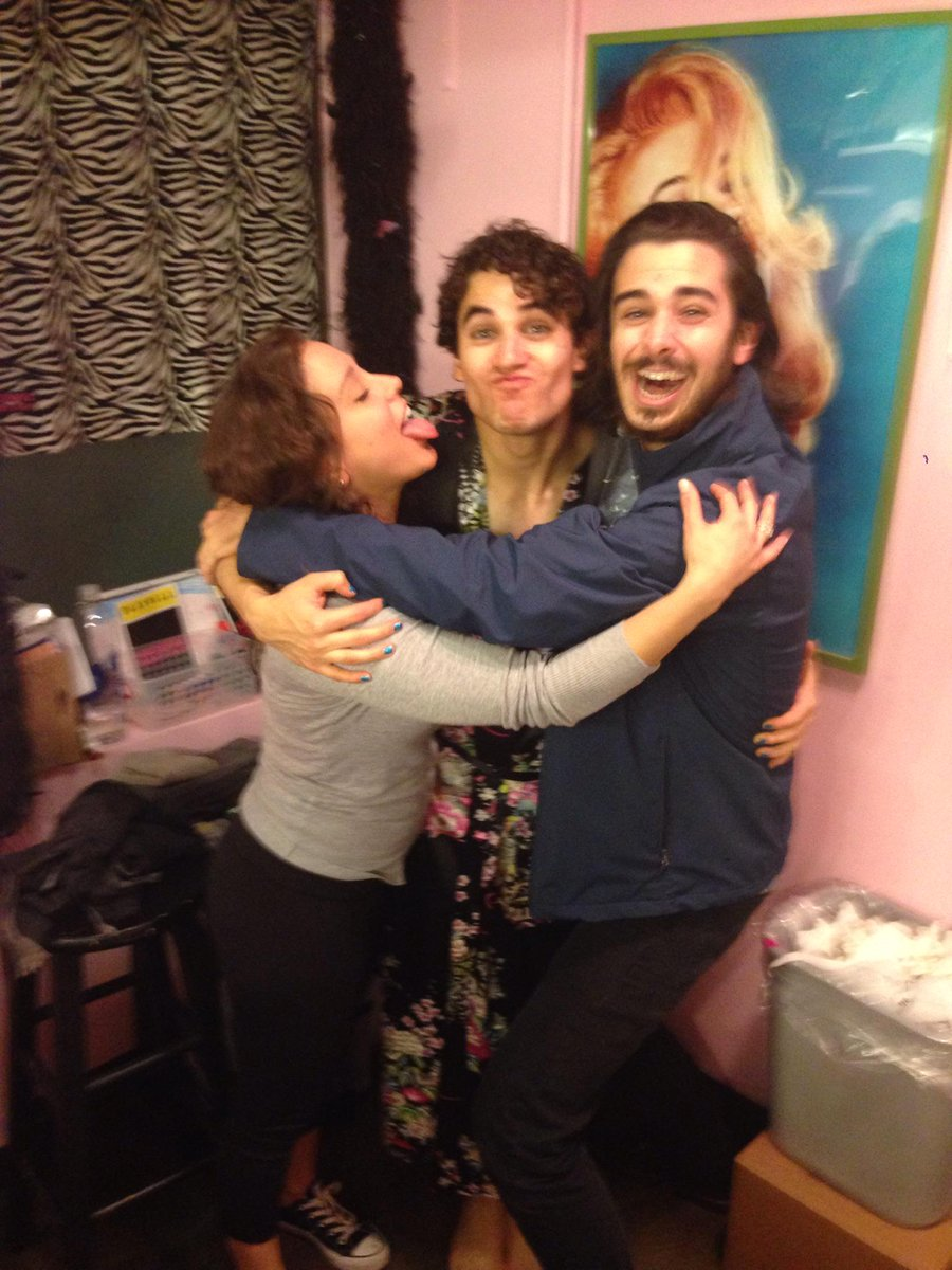 But honestly, @LaurenLopez1 & I rocked, rolled, & Lo got to slap her ass!! Very proud & astonished w/ @DarrenCriss http://t.co/FEGtXBqEOC