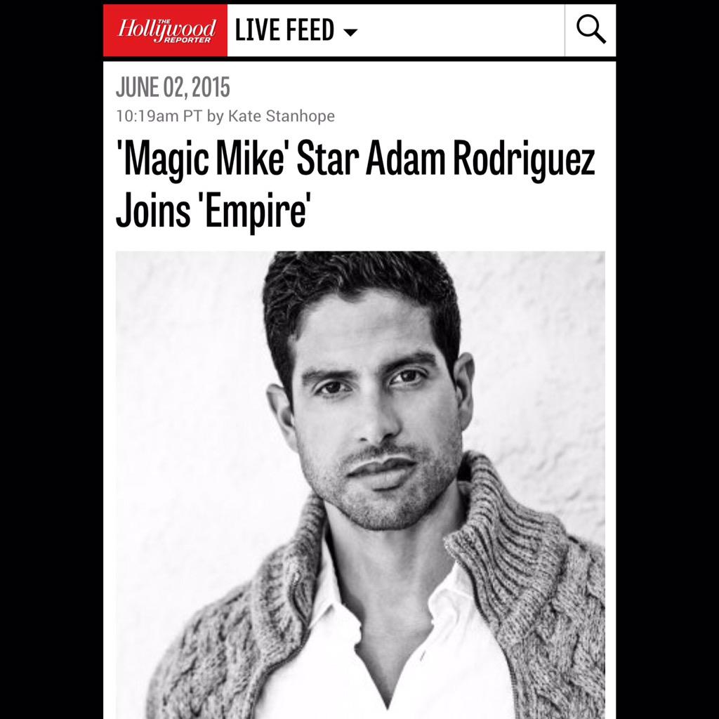 So excited to be joining my friend @TherealTaraji and the rest of the cast of @EmpireFOX http://t.co/BmOQb2aF3l