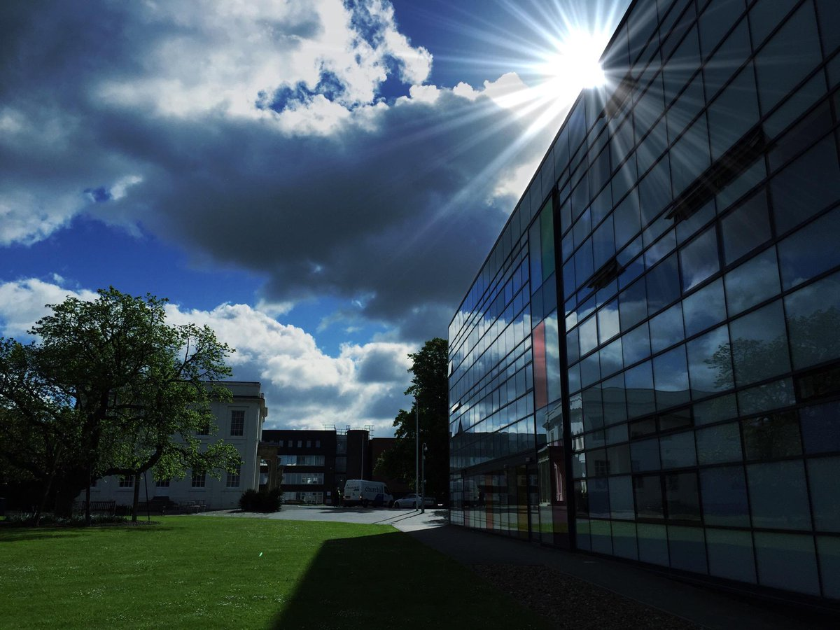 Here comes the sun.. #ou_tbc (at @OpenUniversity in Milton Keynes, Buckinghamshire) https://t.co/EFla4bYoLU http://t.co/D1YNVTYTDQ