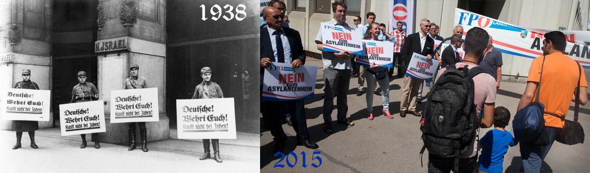 Na, fällt wem was auf? (rechtes Foto von @JChristandl) #FPOE http://t.co/PgqPFj90vD