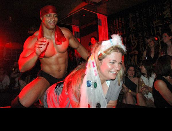 Strip club haunted house