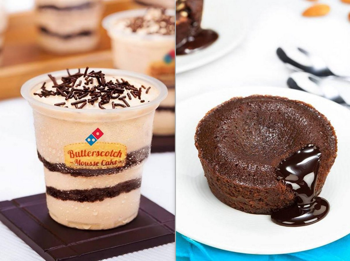 Domino S Pizza India On Twitter Which One Is Your Favourite A Erscotch Mousse Cake B Choco Lava Http T Co C3etxz3up8