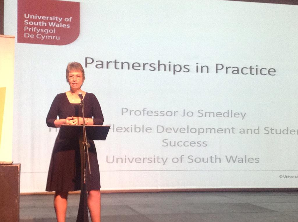 In Neath for #wisewales Partnership conference. Up first is keynote from @JoSmedley http://t.co/oVpvSDx1Ss