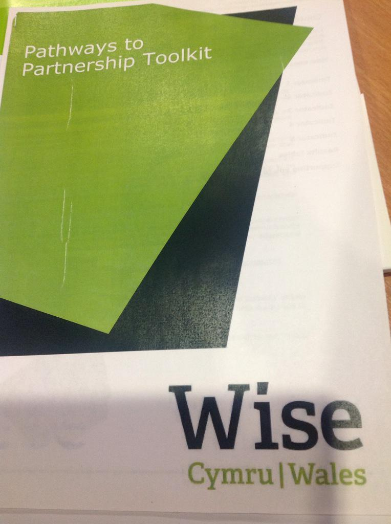 Pathways to Partnership toolkit being launched at today's #wisewales  conference http://t.co/JlhlJOvW8E