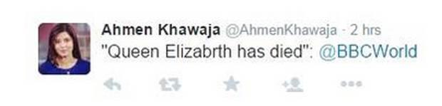 Queen Elizabeth Death Rumor Spreads
