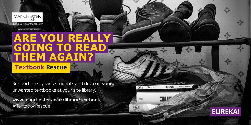Do something great and donate your unwanted textbooks to next year's students! #TextbookRescue http://t.co/lWeYgkkm8l http://t.co/ZdLpTwvKYp