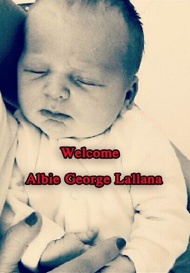 Picture of Adam Lallana Son, called Albie George
