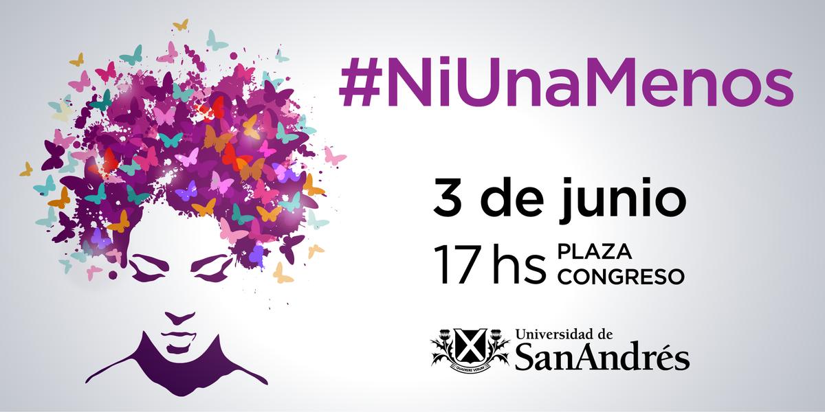 Basta de femicidios, basta de violencia. En Udesa también decimos #NiUnaMenos http://t.co/SeOlDtieuM